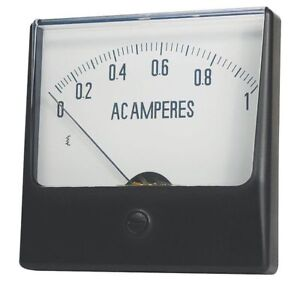 12g431 Analog Panel Meter Dc Current 0 200 Dc