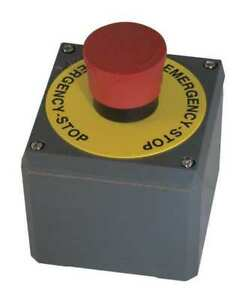 Ge Ge esca Emergency Push Button Station Red