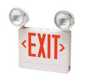 Big Beam Big Beam Thermoplastic Led Exit Sign With Emergency Lights 2dzf par rw