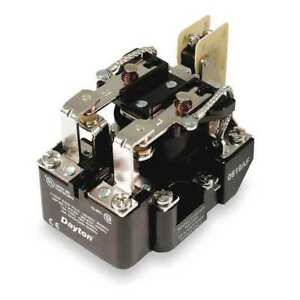 Open Power Relay 8 Pin 24vdc dpdt Dayton 1egb2
