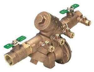 Reduced Pressure Zone Backflow Preventer Zurn Wilkins 14 975xl2