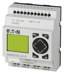 Programmable Relay 110 240v Eaton Easy512 ac r