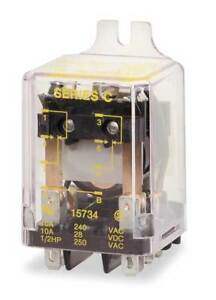 Relay 8pin dpdt 10a 24vac Square D 8501kfr12v14
