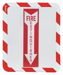 Sign Holder adhesv fire Extinguisher pk2 Tarifold P194993fe