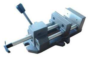 8 Quick release Vise With Fixed Base Dayton 4yg29