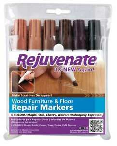 Rejuvenate Rj6wm Wood Repair Marker Assortmnt mdium pk12