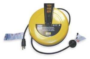 Retractable Cord Reel With 25 Ft Cord 16 3