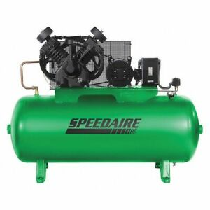 Speedaire 1wd68 Elec Air Compressor 2 Stage 10hp 34cfm