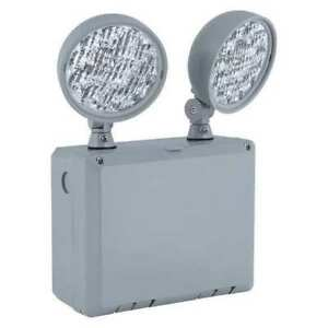 Hubbell Lighting Compass 2 Led Lamps Emergency Light