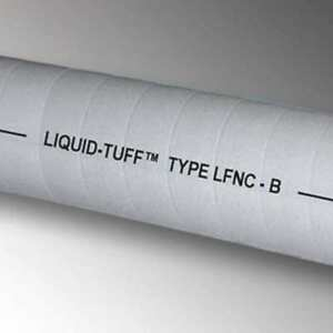 100 Ft Flexible Nonmetallic Liquid Tight Conduit Electri flex Nm 12x100 Gry