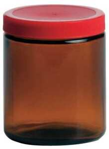 Qorpak 239563 Glass Bottle 8 Oz Amber Pk 24