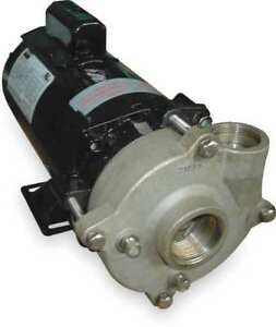 Stainless Steel 1 Hp Centrifugal Pump 115 230v