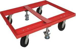 Pallet Dolly 48x42 with Floor Locks Zoro Select 48j089