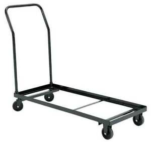 Folding Chair Cart 300 Lb Load Capacity Holds 26 Chairs Zoro Select Dy 1100