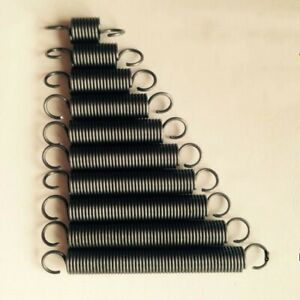 Wire Dia 3 0mm Od 17 29mm Length 55 500mm Tension Extension Spring Select Size