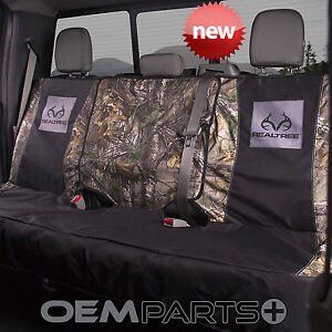 New Realtree Xtra Camouflage Full Size Rear Bench Seat Cover Truck Suv Real Tree
