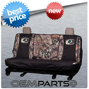 New Mossy Oak Country Camouflage Full Size Rear Bench Seat Cover Truck Suv Camo