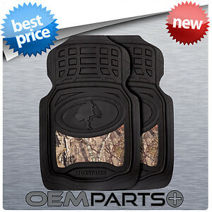 New Pair Mossy Oak Floor Mats Mossy Oak Break Up Country Camo Outdoors Fishing