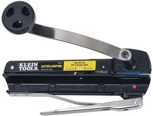 Klein Tools Bx And Armored Cable Cutter No Burrs Swift Action Cutting Durable