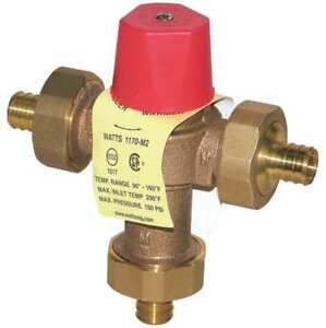 Mixing Valve brass 0 5 To 23 Gpm Watts 3 4 Lf 1170 Pex