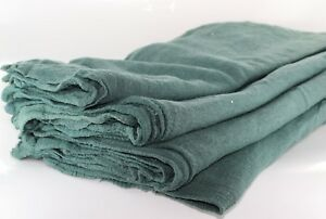 1000 Industrial Shop Rags Cleaning Towels Green