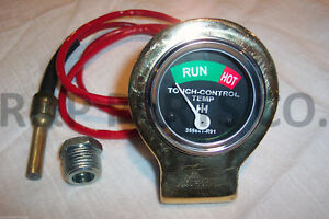 Hydraulic Temperature Gauge For Farmall Ih Tractors 200 100 140 130 Super A C