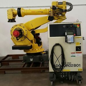 Fanuc M900ia 350 With Rj3ic r30ia Controller tested Low Hours Complete