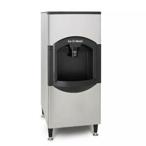 Ice o matic Cd40030 Floor Ice Dispenser With 180 Lb Capacity Ice Storage Bin