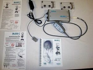 Natus Algo 5 Newborn Hearing Screener System With Preamp Check Kits