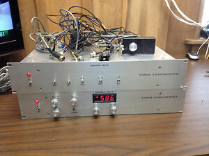 Vista Electronics Model 401 And 308 Test Equipment