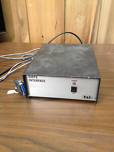 Tsi Dmps Interface Analytical Instrument 1030706
