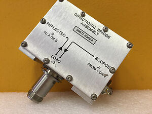 Hp Agilent 35677 63504 75 Ohm Type N f Sma f Directional Bridge Assembly