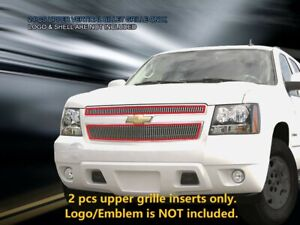 Billet Grille Grill Vertical For Chevy Tahoe Suburban Avalanche 2007 2014