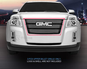 Polished Billet Grille Grill For Gmc Terrain 2010 2011 2012 2013 2014