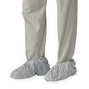 Dupont Fc450 5 4 Mil Universal One Size Disposable Gray Shoe Covers Slip Resist