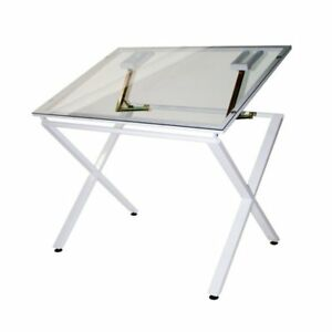 Martin Universal X factor Drawing drafting Table With Glass Top