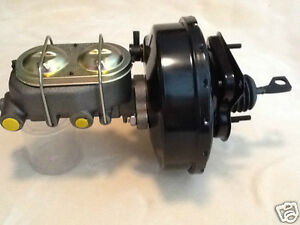 68 69 70 Ford Mustang 9 Power Disc Brake Booster 1 1 8 Bore Master Cylinder