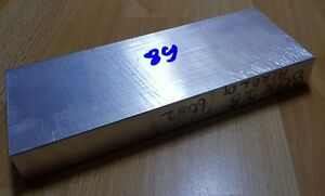 Aluminum Bar Stock Block Square 6082 25mm X 80mm X 203mm 89