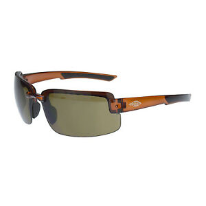 Crossfire By Radians 441107 Es6 Safety Glasses Hd Brown Lens W Brown Frames