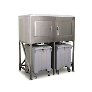 Scotsman Ics 2 1200 Lb Storage Ice Express System Ice Bin