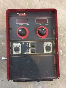 Lincoln Electric Power Feeder Control Panel Mig Tig 455m