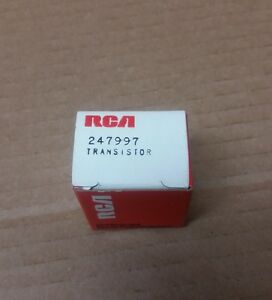 Rca Rf Power Output Transistor Vintage 247997 25 30 Watt