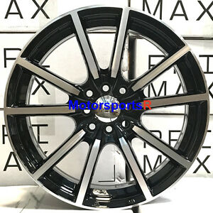 Xxr Primax 774 17x7 5 40 Machine Black Rims Wheels 4x100 06 17 Toyota Yaris S
