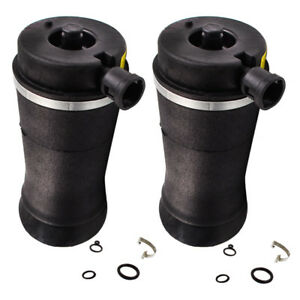 2pcs Rear Air Spring Bag For Ford Expedition 4wd Air Ride Suspension Shock Strut