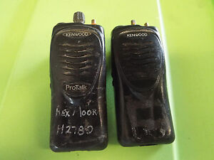 Lot Of 2 Kenwood Protalk Tk 2200 Vhf Fm Transceiver Radio Alh36913120 z12
