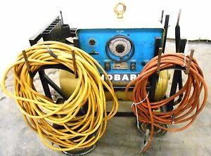 Hobart Welder M 300 12cw 51253 1744 20 Hp 300 Amps With Welder Cables