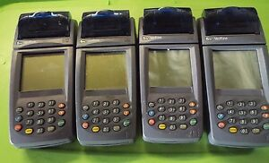 Verifone Nurit 8020 Wireless Terminal Gprs Credit Lot Of 4