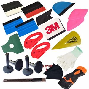 Pro Car Wrapping Tools Kit Car Window Tint Squeegee Vinyl Film Installation