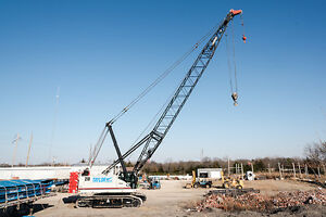 2014 Link Belt 218 Hsl 110 Ton Crawler Crane 40 Ft Basic Boom