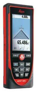 Laser Distance Meter lcd 1000 Ft Leica Disto S910